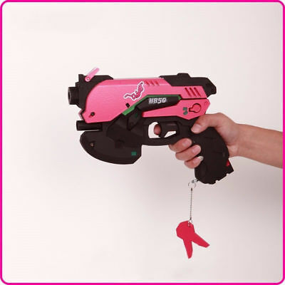 Game OW Overwatch D.Va DVA Headset Gun Anime Weapons Cosplay Props Kids Toy Gift