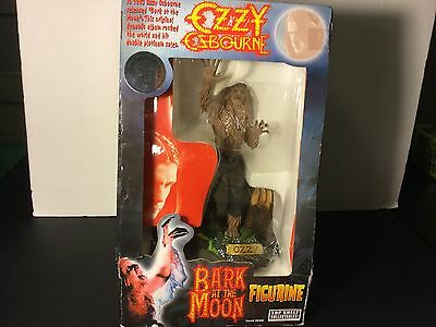 NEW 2002 OZZY OSBOURNE Bark of the Moon Figurine Numbered Series Top Shelf