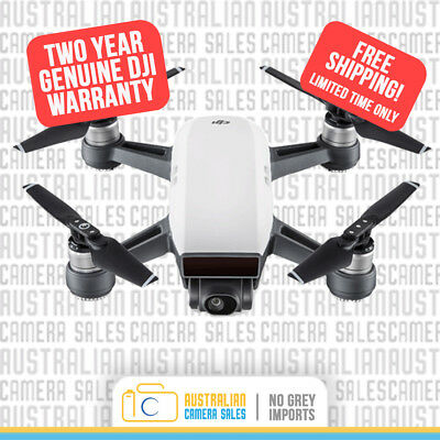 DJI Spark - Alpine White + 2 Years Warranty *Authorised DJI Dealer*