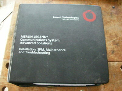Lucent Merlin Legend Installation, SPM, Maintenance, and Troubleshooting book