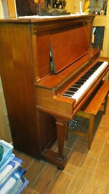 1909 Wellington upright piano restored