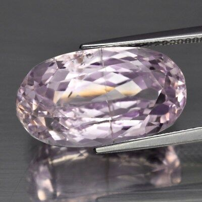 16.33ct 18.8x10.7mm Oval Natural Untreated Pink Kunzite, Stunning!