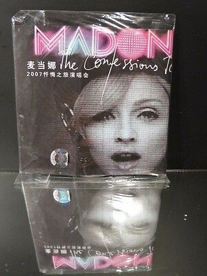 Madonna DVD The Confessions Tour Japanese Super Rare NEW 2007
