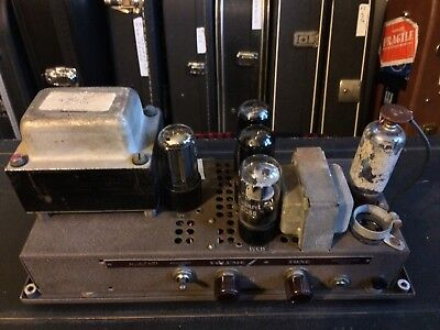 Vintage Late 40s Bell And Howell 15w 6v6 Valve Guitar Amplifier