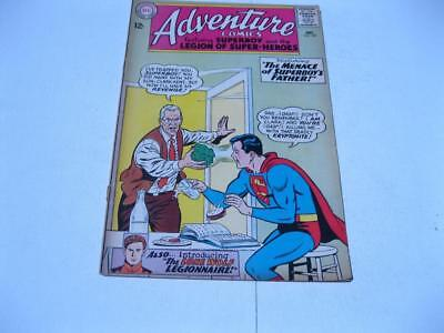 "Vintage 1964 DC *ADVENTURE COMICS* #327 Superman ""1st Appearance of Lone Wolf """