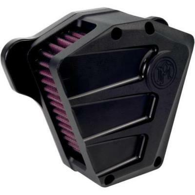 Performance Machine Scallop Air Cleaner Black Ops #0206-2085-SMB Harley Davidson