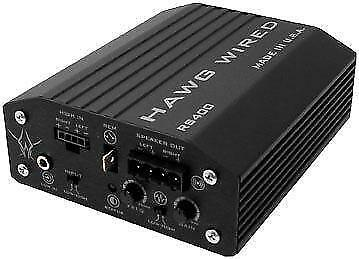 Hawg Wired Reference Series 400W Amplifier #RS400 Harley Davidson/Victory
