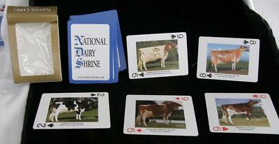 National Dairy Shrine Playing Cards Deck