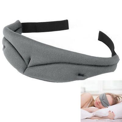 Sleep Mask Ultra-Soft Memory Foam Sleeping Cover Breathe-Easy Eye Shade Adjusts