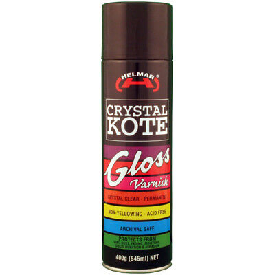 Helmar Crystal Kote 400 grams 545 ml net