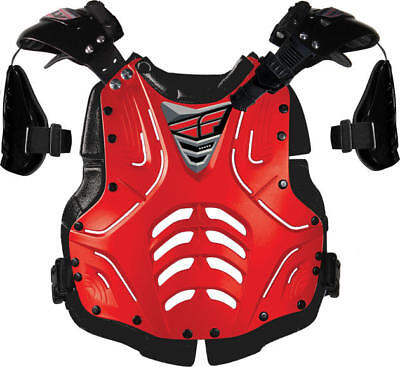 Fly Racing Junior Convertible II Deflector Red