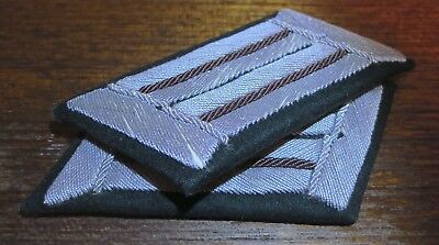 PRE-'45 NEBEL OR RECON Offcr. Collar Tabs RARE BRANCH COLOR! - MINT MATCHED