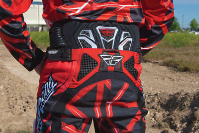 Fly Racing Youth Flight Kidney Belt Black/Red