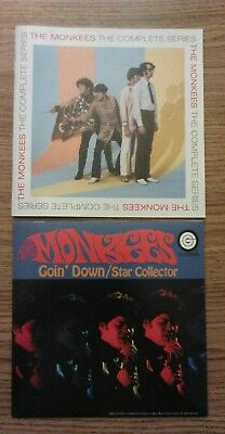 """The Monkees """" The Complete Series"""" 38 page booklet + 7"""" record from box set MINT"""