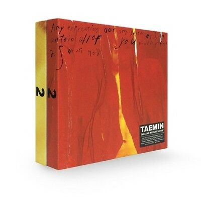 Shinee Taemin-[Move]2nd Album Wild Ver CD+Photobook+Card+Tracking KPOP