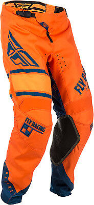 Fly Racing Kinetic Era Pants All Colors/Sizes Orange/Navy 38 371-43838