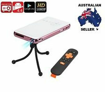 Android Mini Projector - DLP Technology, 1080p Support, 150 Lumen AUS SELLER