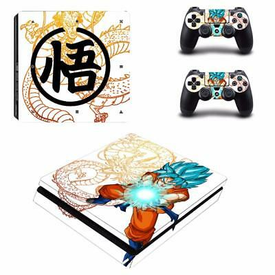 Dragon Ball Super Son Goku PS4 Slim Console Skin Decals Vinyl Skin Sticker Decal