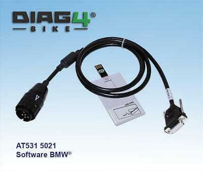 Diag4 Bike Serial Diagnostic System with BMW Software/Cable