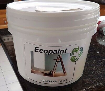 1x10 Ltr ECO PAINT - WASHABLE LOW SHEEN  INTERIOR ACRYLIC -MYSTIC RIVER