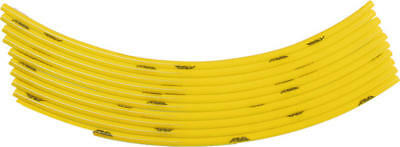 "FLY Gas Cap Vent Hose 18"" Yellow 10-Pack"