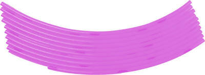 "FLY Gas Cap Vent Hose 18"" Pink 10-Pack"
