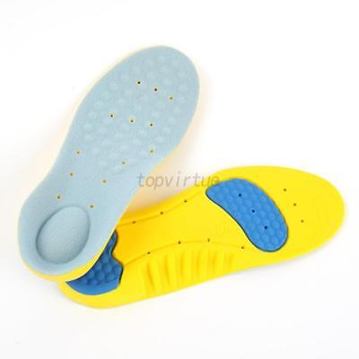 S M L Pair Men Women Memory Foam Insoles Inner Sole Slippers Shoe-pad Foot Pads