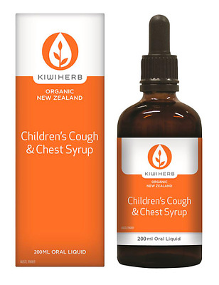 KiwiHerb Children's Cough and Chest Syrup 200ml RRP $48.95