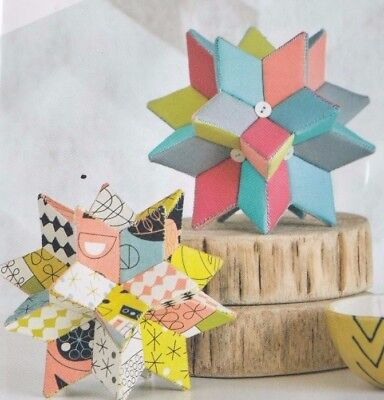 Radiant Star - Small - Dimensional Paper Piecing Kit from Fabri Flair