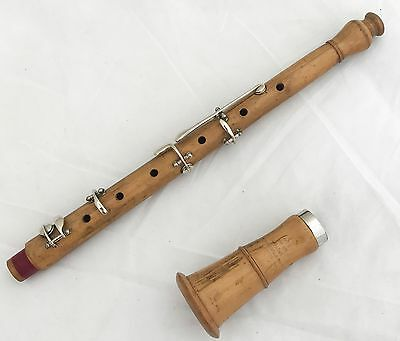 Antique Jerome Thibouville Lamy French Musette Gentlemans Pastoral Piccolo Oboe
