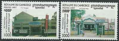 Timbres Cambodge 1474/5 ** année 1997 lot 23288