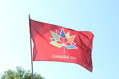 Canada 150 Flag 3' by 5' New in Package