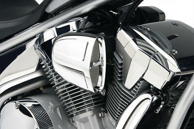 Cobra PowerFlo Air Intake System Chrome #06-0137 Honda VTX1300