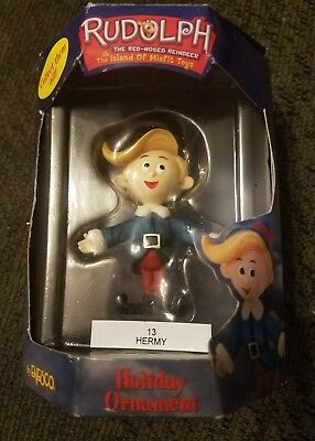 HTF from 2000' Enesco HERMY ORNAMENT Rudolph & The Island Of Misfit Toys 880558