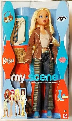 My Scene Barbie 2003 no. B3214 NIB