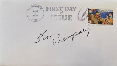 Tom Dempsey New Orleans Saints Signed First Day Cover
