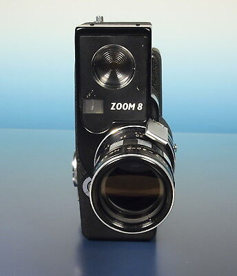 Sekonic Zoom 8 Doppel 8 Filmkamera Movie Camera Model 53-D Photographica - 41103