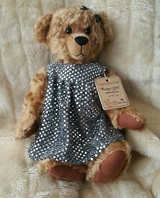 Countrylife Party Girl Bear by Robin Rive Limited Edition
