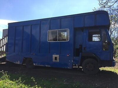 FORD IVECO horse lorry .. D reg. spairs or repair