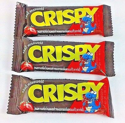 Chocolatey Rice Best Naturals Cereal Strawberry Flavour Crispy Camping Snack