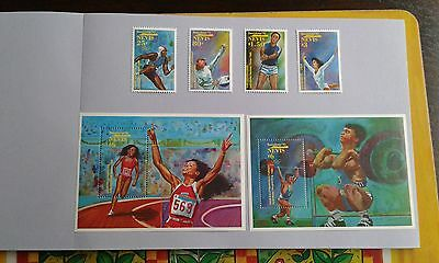 Nevis stamps 1992