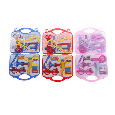 Kids Pretended Doctor's Medical Set Doctor Medical Play Set Emergency Toy Gift @