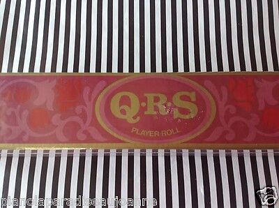 Que Sera -  Whatever Will Be Will Be   Brand New Pianola ( Player Piano ) Roll