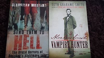 Bundle Of Books Vampire Hunter and Send Them To Hell