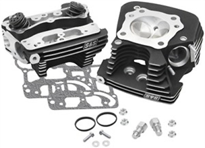 S&S Cycle Super Stock 89cc Cylinder Head Kit - .640in. Lift Springs - Winkle Bla