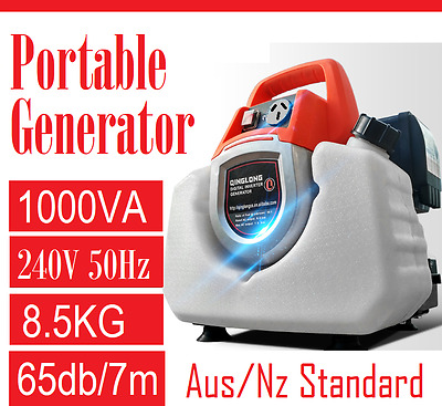 New Ultra 1000 (W) max Generator Petrol Portable Inverter For Camping