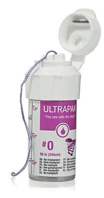 Ultrapak Dental Gingival Retraction Knitted Cord Packing Ultradent Size #0