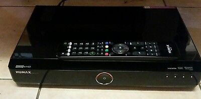 Humax HDR-FOX T2 500GB Freeview+ HD TV RECORDER / Receiver SVR PVR DVR DTR 1080