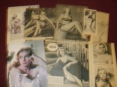 Anita Ekberg - Clippings
