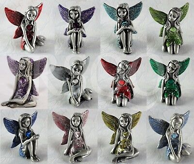 Fairy Birthstone Collectables Fairies Gemstone Ornament Gift Boxed